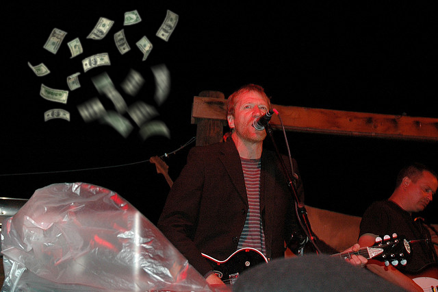 David Lowery, musician with Cracker and Camper Van Beethoven supports Trichordist and is angry that recorded music doesn't pay like it used to. (photo: Clinton Steeds CC-BY)